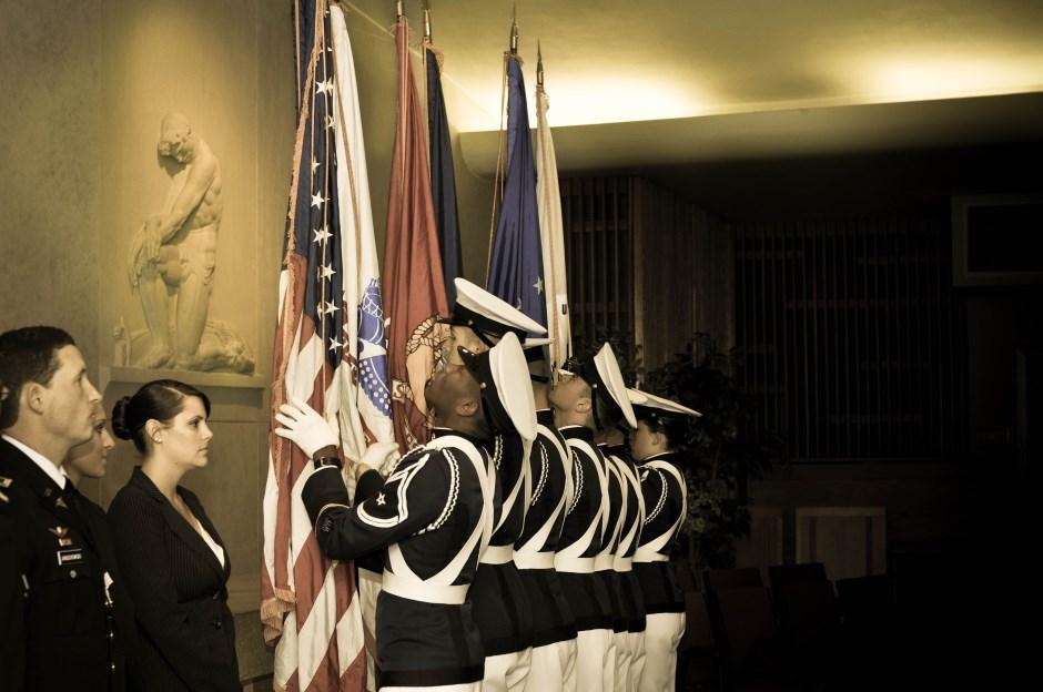 VCOM Military Promotion Ceremony Event Photography